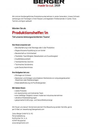 Produktionshelfer
